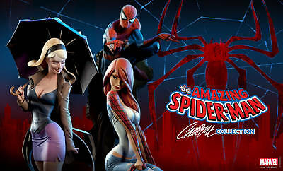 Sideshow Campbell Collection - Spiderman & Mary Jane & Gwen Stacy