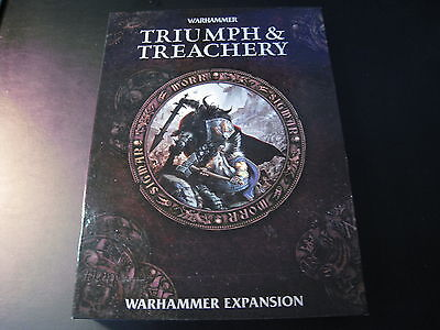 Triumph & Treachery Game Set Expansion Warhammer Hardback Book Unused