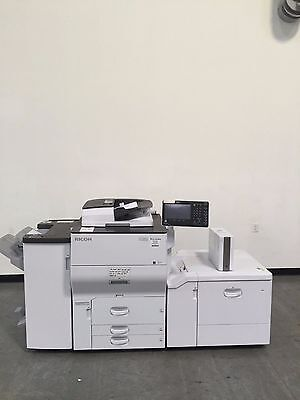 Ricoh PRO C5100S 5100S C5100 color copier only 102K copies - 65 ppm copies