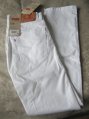 Levis 510 Skinny Blanc Neuf 12 Ans Fille Levi's