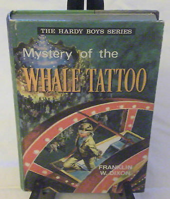 Hardy Boys 04: Mystery Of The Whale Tattoo–Collins, British, Uk–Matte Pictorial