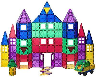 Educational Toys For 5 Year Old Ages 3 Plus Construction Magnetic Tiles Playmags