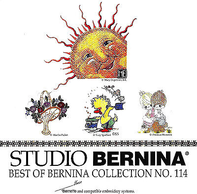 BEST OF BERNINA COL #114 Memory Card for Bernina Deco, Baby Lock, Brother .pes