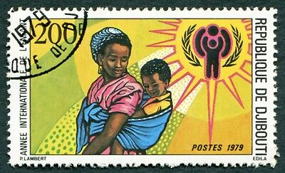 DJIBOUTI 1979 200f SG754 used NG International Year of the Child c #W29