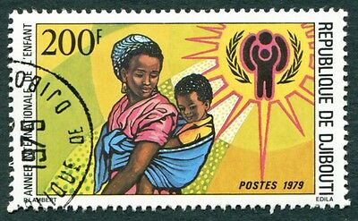 DJIBOUTI 1979 200f SG754 used NG International Year of the Child e #W29