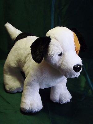 Webkinz Jack Russell Terrier White Brown Black No Code Included Plush Stuffed