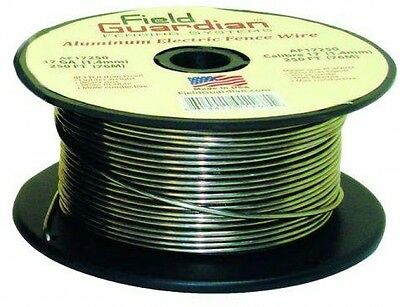 Outdoor Farm 120-Ft 14-Gauge Aluminum Electric Fence Wire Reel Fencing