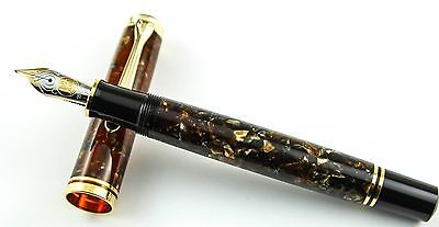 Pelikan M800 Renaissance Brown Fountain Pen (F-nib)