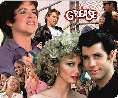 Grease Travolta/Newton John Colour Movie Mouse Mat