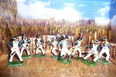 Napoleonic Rare Made In Poland In 70's Plastic Soldiers Job Lot.