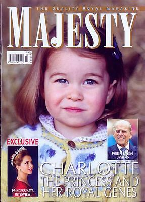 Majesty Magazine May 2017 Princess Charlotte Photo Cover Special