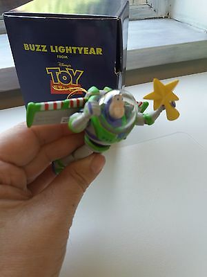 Disney Grolier Presidents Edition Buzz Lightyear Ornament Boxed Vgc.