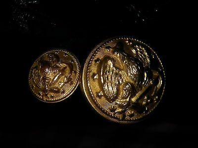 "American Eagle Us Military Button Cuff Link"" Truly  Magnificent "" Mint Condition"