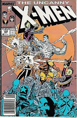 The Uncanny X-Men #229 (May 1988, Marvel)
