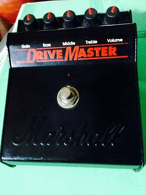 MARSHALL DRIVEMASTER Vintage Overdrive Pedal **JCM800 IN A BOX!** No Shredmaster