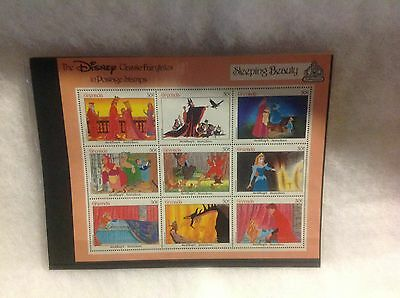Collector Stamps Disney 50th  Anniversary Sleeping  Beauty