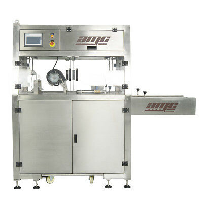 "15.7"" Chocolate Tempering Enrobing Machine Belt with Cooling Tunnel AMC AMCEM01"