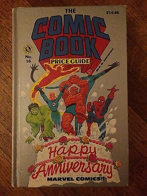 The Comic Book Price Guide. 1986. 16th Edition. Hardcover. Good Condition.