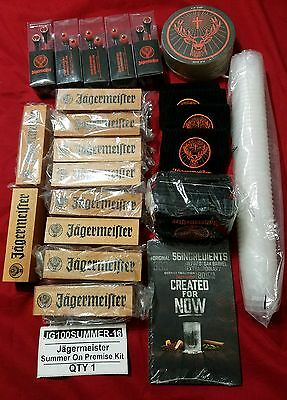 Lot Of Over 100 Bar Party Collectable  Jagermeister And More Items (NEW)