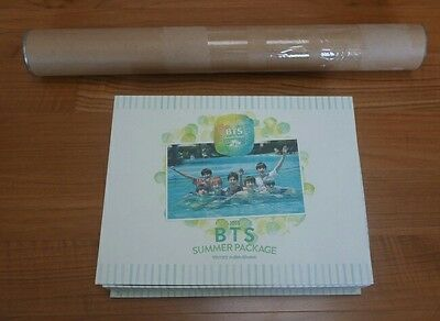 BTS Summer Package in Kota Kinabalu 2015 Photobook DVD Fan Stickers Pouch Poster