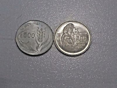 1974 and 1981 Cyprus proof coins