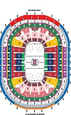 Montreal Canadiens Tickets 2017-2018 Half-Season 22 Games White Section