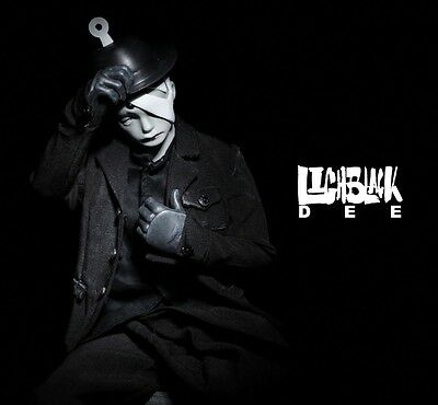 """1/6 lighblack Dee """" the magician """" 12"""" tall ThreeA / 3A action figure collection"""
