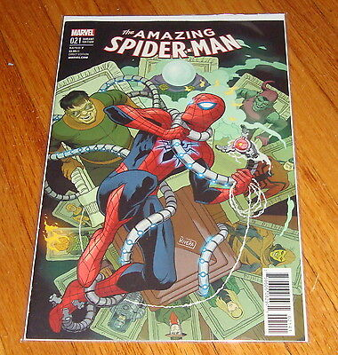 Amazing Spider-Man #21 Paolo Rivera 1:25 Variant Edition 1st Print
