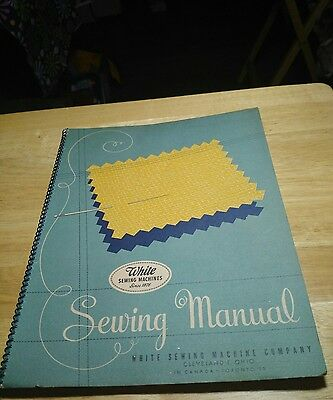 1942 Sewing manual by White Sewing Machine Company