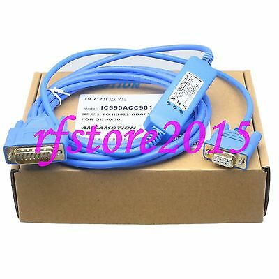 IC690ACC901 PLC Cable for Fanuc GE90 Series PLC RS232/RS422  LED Hot Swap
