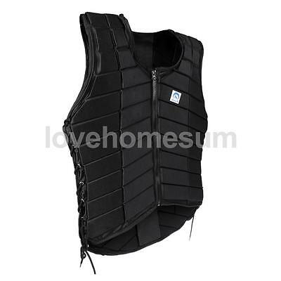 Safety Padded Adult Women Equestrian Vest Horse Riding Body Guard Protector