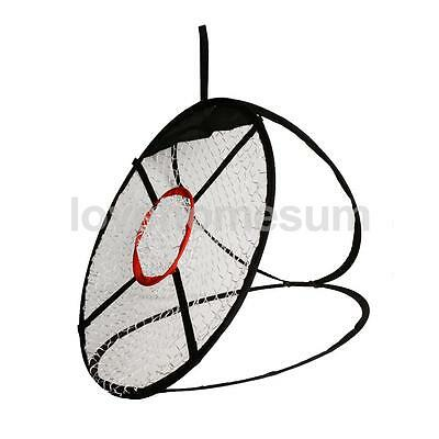 Portable 24'' Golf Practice Chipping Driving Hit Net Training Aid Equipment