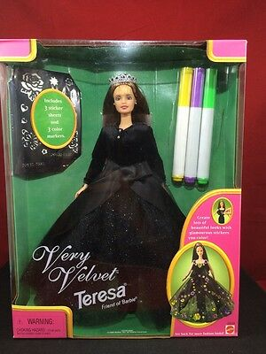1998 Barbie Very Velvet Teresa Friend of Barbie NIB