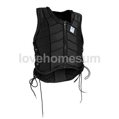 Breathable Equestrian Vest Horse Riding Back Body Protector for Kids Size M