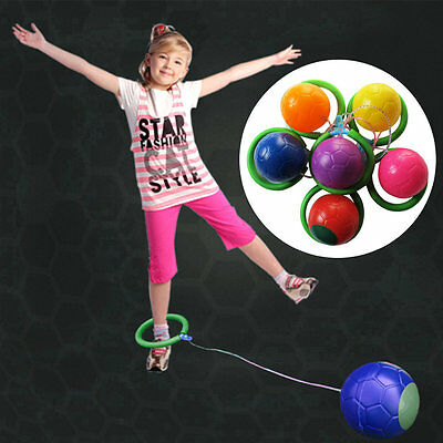 Skip Ball Outdoor Fun Toy Balls Classical Skipping Toy Fitness Equipment CK
