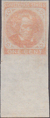 Confederate #14 One Cent Stamp