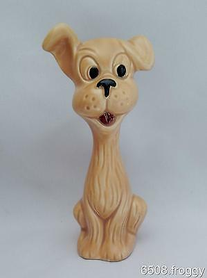 SYLVAC- CARICATURE - CUTE Seated Dog - BEIGE  #5296 -  Excellent