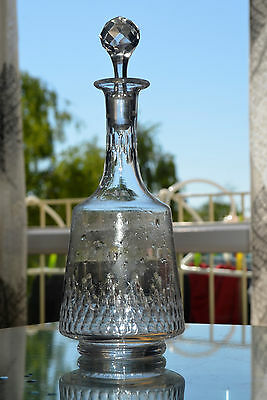 Ancienne Carafe Cristal Taille Baccarat Catalogue 1916 Modele Richelieu