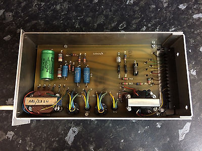 Vintage 1960s BBC EMI Germanium Low Gain Preamplifier