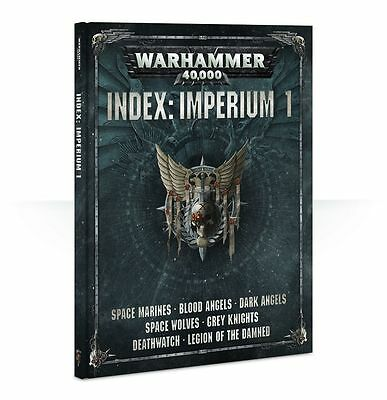 Warhammer 40.000 Index Imperium 1 (Deutsch) Regelwerk Space Marines Deathwatch