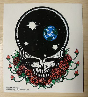 "NEW ""GRATEFUL DEAD"" ""STEAL YOUR FACE"" VINYL STICKER DECAL BAND MERCH 11.3cms"