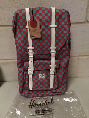 Herschel Supply Co. Little America Backpack - Salmon Pink 23.5L - New