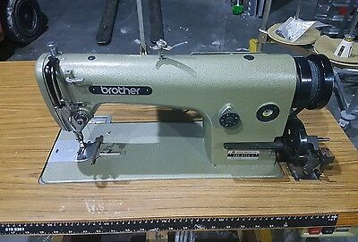 Brother DB2-B714-3 Industrial Sewing Machine With Table