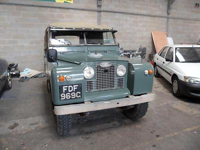 SORRY NOW SOLD.1965 SERIES 2 Land Rover 2.25 PETROL/ OVERDRIVE.