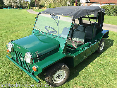 outstanding 1966 Mini Moke Series 1+UK car+drives absolutely  A1+best available?