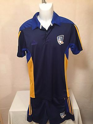 Cricket ACT 2014 KIT SML Climacool Polo + MED Climacool Shorts by Adidas