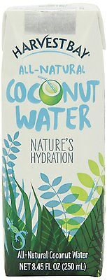 Harvest Bay Coconut Water, 8.45-Ounce (Pack of 12)