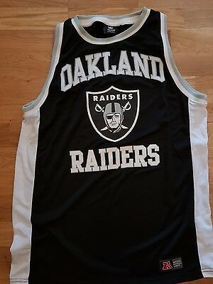 New Nfl Oakland Raiders Jersey Size M