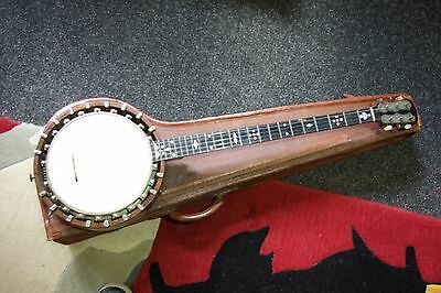 Windsor and Taylor Zither Banjo Circa 1900 including Hardcase