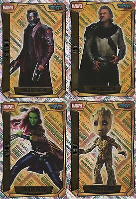 Topps Marvel Missions Hero Attax Limited Editions Ego Gamora Groot Star-Lord